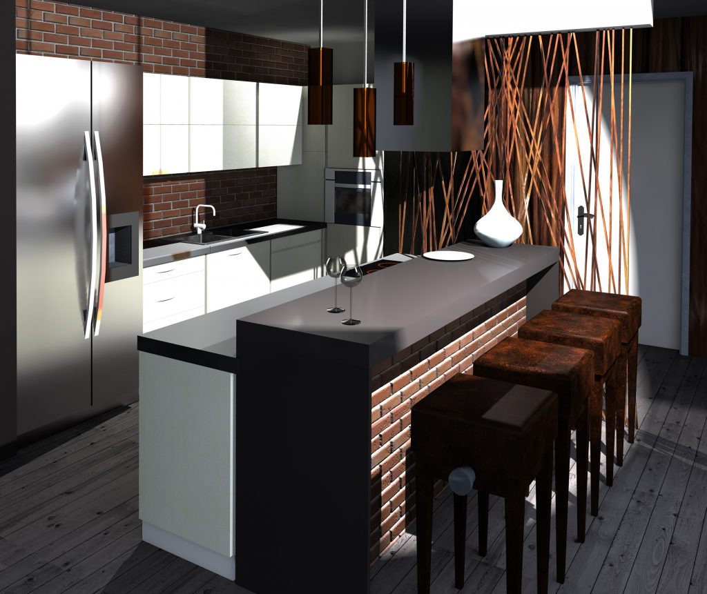 Kuchnia 01 Interlock Wnętrza